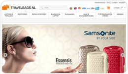 Screenshot Travelbags.nl