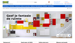 Screenshot IKEA.com