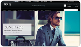 Screenshot HugoBoss