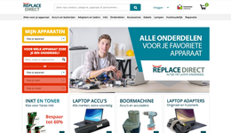 Screenshot Replacedirect.nl
